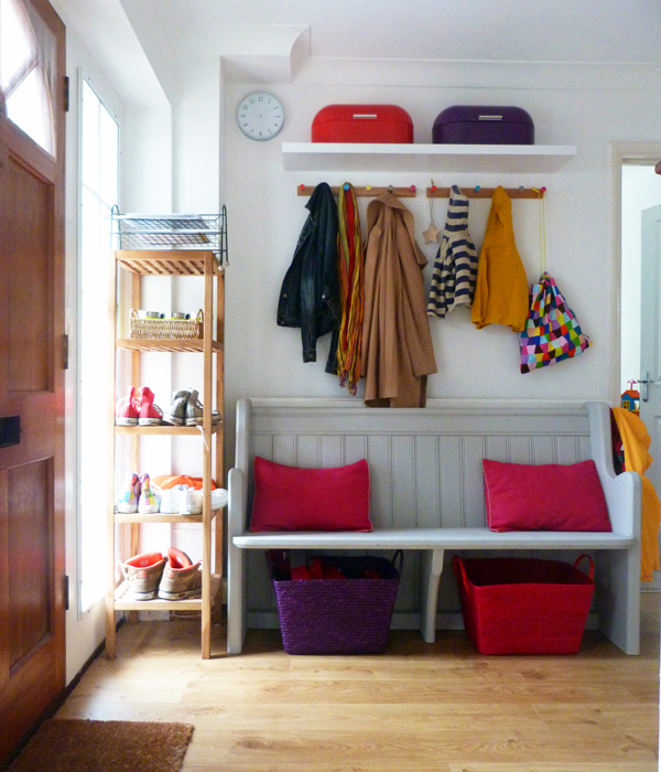 {Tots100 Home Club} Hallway storage solutions