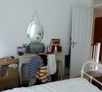 {Tots100 Home Club} Bedroom challenge: dressing table