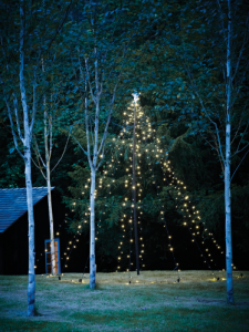 {How To} Make an outdoor light tree