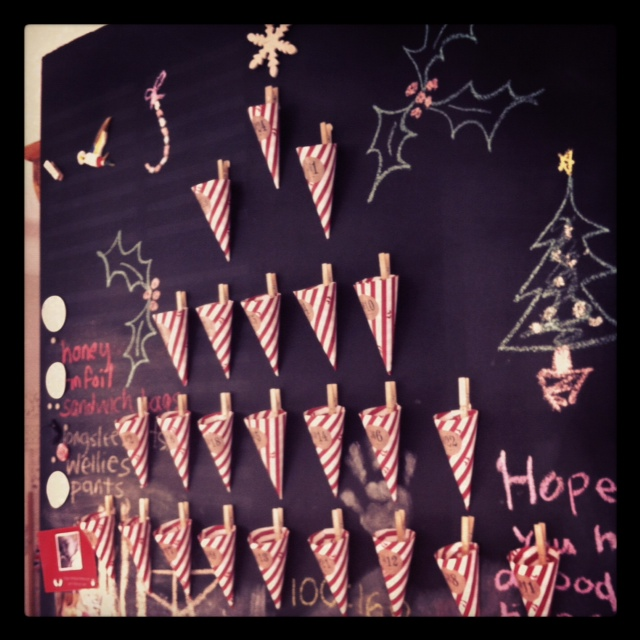 {How To} Make an advent calendar with a difference