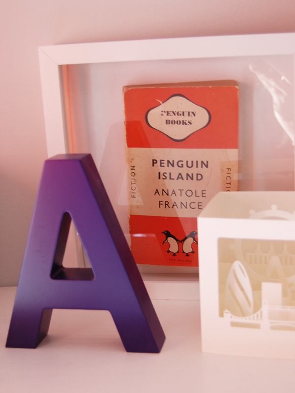framed penguin book