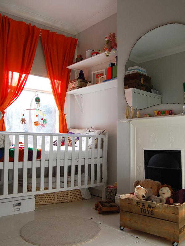 Penguin books themed nursery