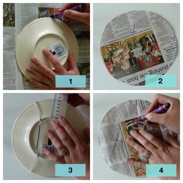 {How to} hang plates