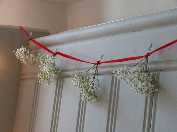 {Make it} Nature in the home: Christmas garland