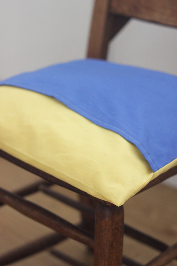 how to make an easy envelope cushion cover