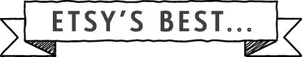 Etsy's best… HANDWRITING-inspired buys
