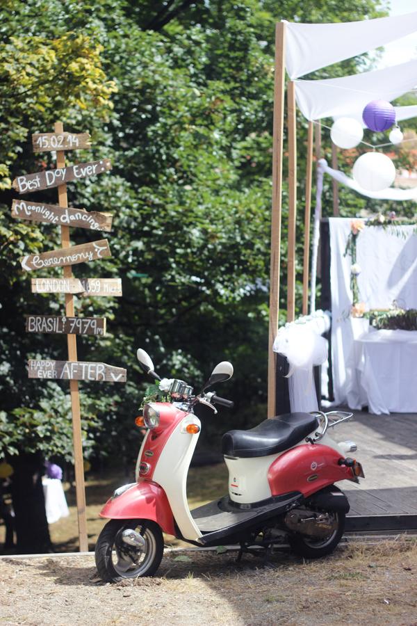 A homespun wedding in New Zealand