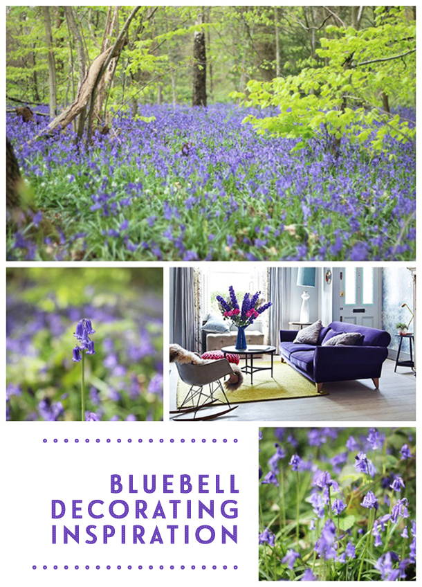 Bluebell-inspired decorating | Growing Spaces