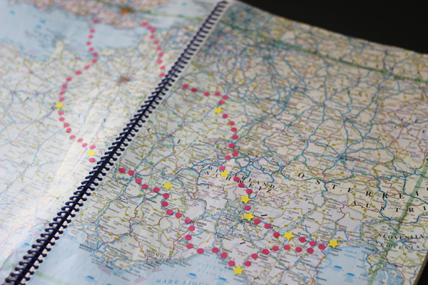 Plotting our road trip | Growing Spaces