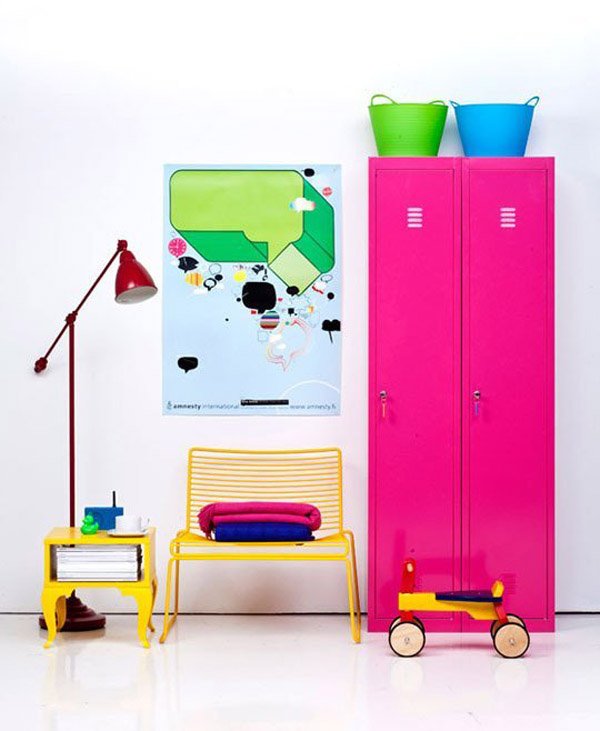 Pink gender-neutral kids' bedrooms | Growing Spaces