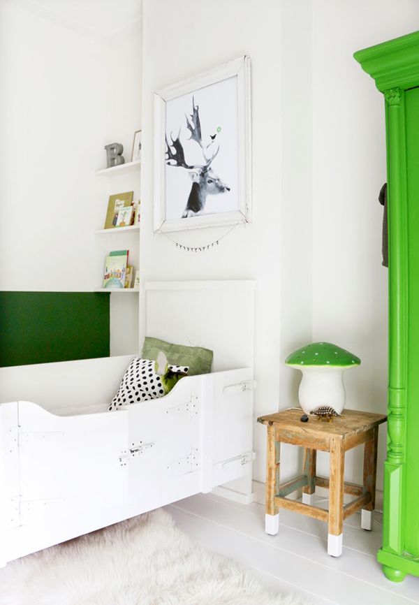 Gender-neutral kids rooms | Style Files via Growing Spaces