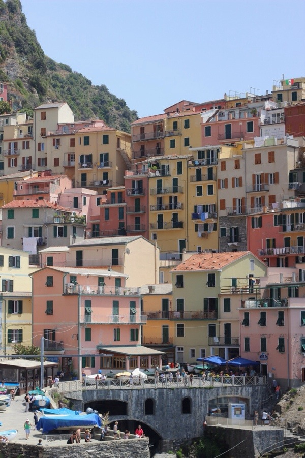 The colours of the Cinque Terre