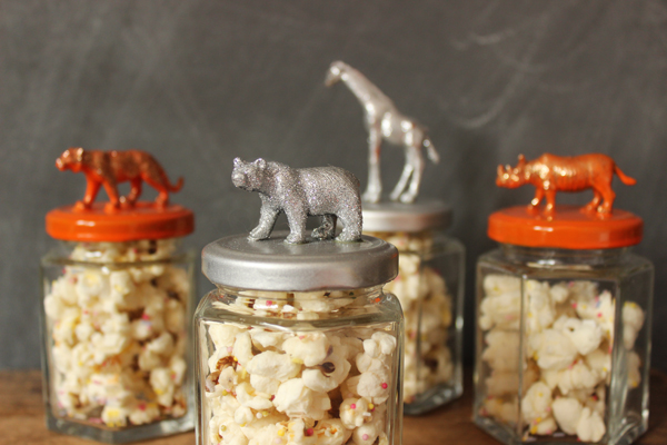 Circus party favour jars | Growing Spaces