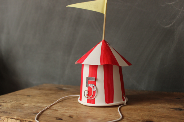 Circus party hat | Growing Spaces