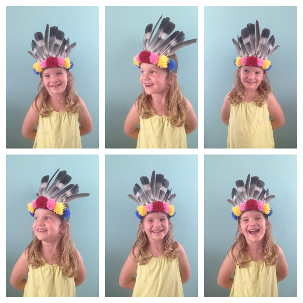 DIY feather crown for kids | Growing Spaces