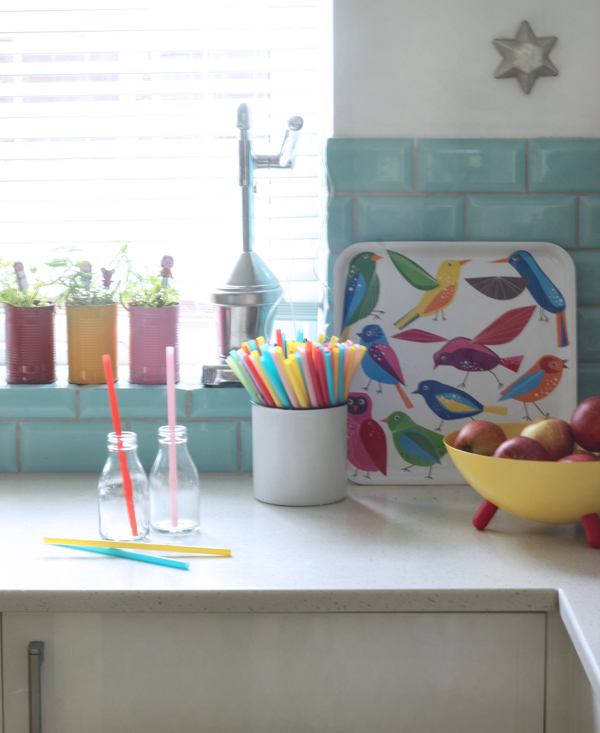 Bright kitchen accessories |Growing Spaces