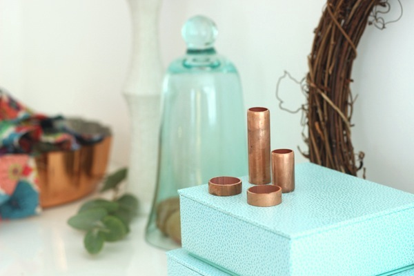 Copper pipe pieces | Growing Spaces
