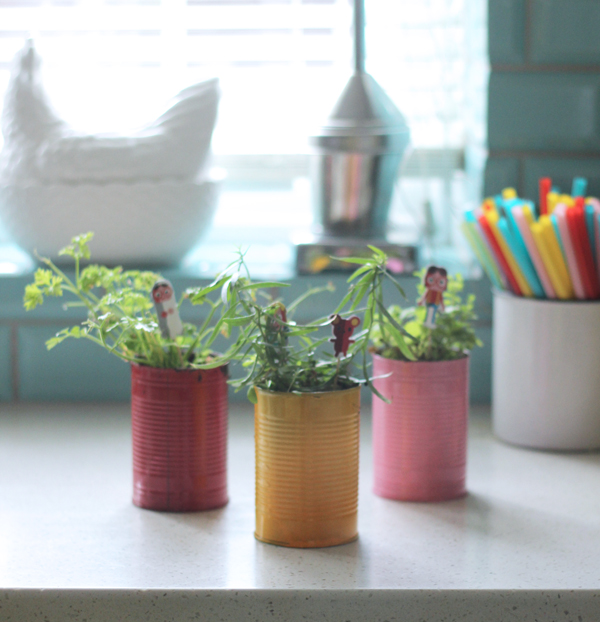 DIY herb planters | Growing Spaces