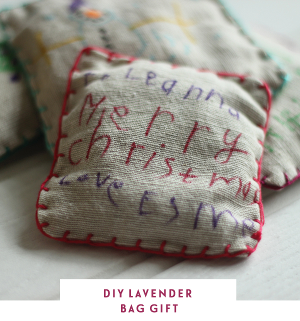 DIY lavender bag gift for teachers - Growing Spaces