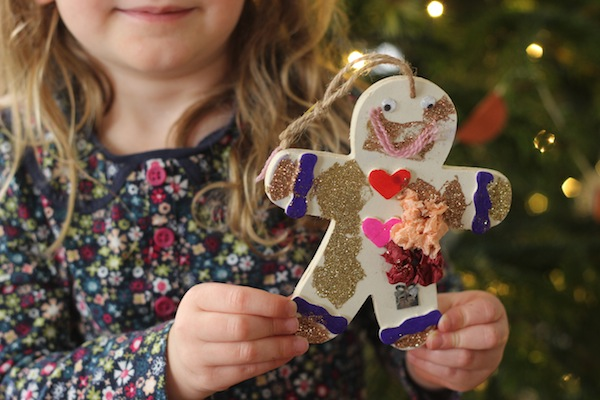 Hobbycraft gingerbread man decoration | Growing Spaces