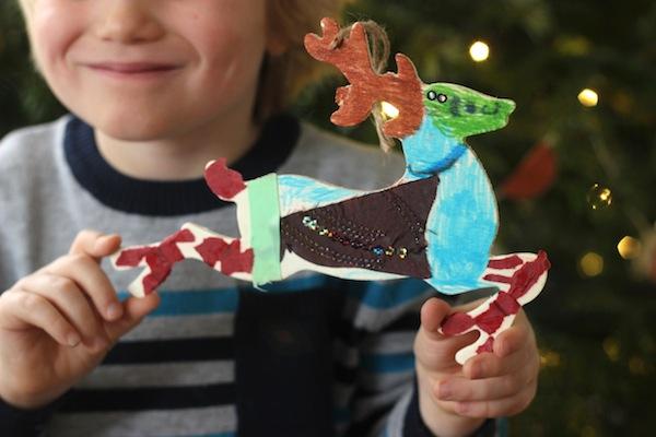 Hobbycraft reindeer decoration | Growing Spaces