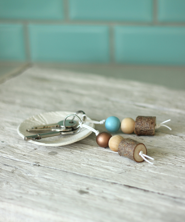 - the everyday spruce - Christmas tree twig keyring   Growing Spaces