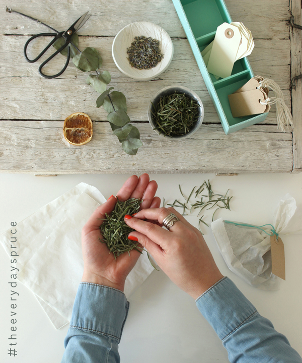 - the everyday spruce - DIY pine-scented fire sachet   Growing Spaces