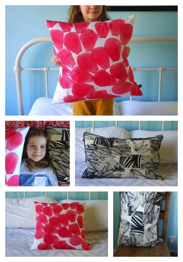 Habitat SS15 cushions styled by Ez, age 5 | Growing Spaces