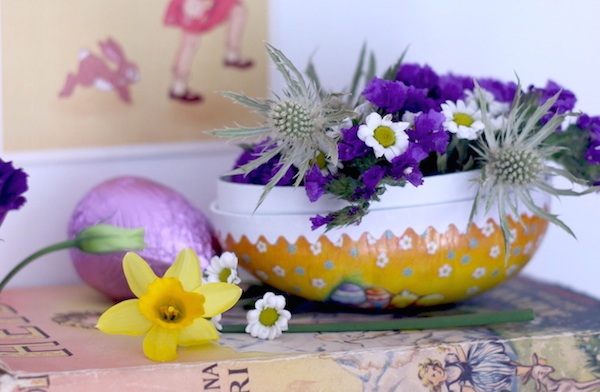 Flower-filled Easter egg | Growing Spaces