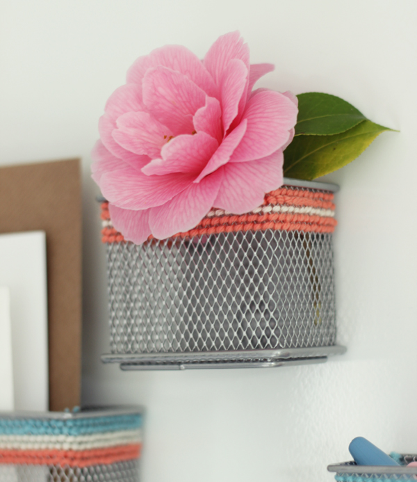 DIY cross stitch mesh storage | Growing Spaces