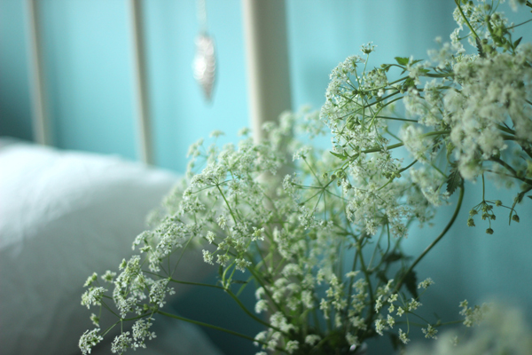 Cow parsley for a fresh Spring bedroom | Growing Spaces