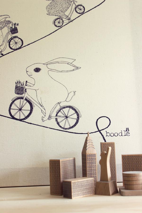 DIY tea towel wall art #theeverydayspruce   Growing Spaces