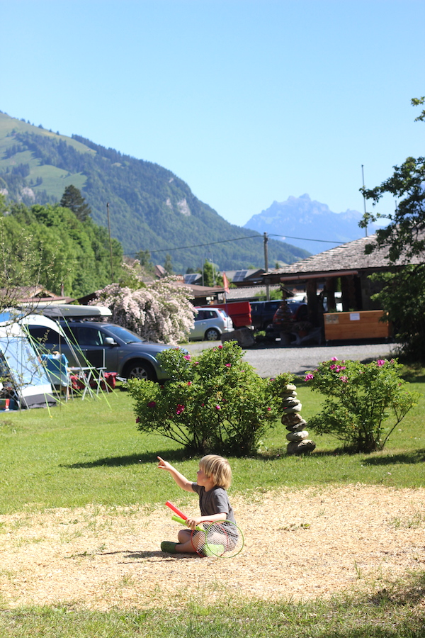 Camping Grassi, Frutigen, Switzerland | Growing Spaces