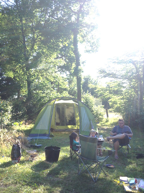 30 days of camping | Growing Spaces