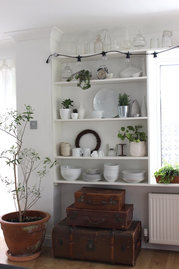 DIY open shelving for display | Growing Spaces