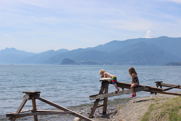 Lake Como - free beach | Growing Spaces