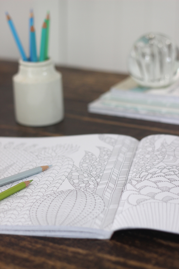 Summer stress-buster - mindful colouring | Growing Spaces