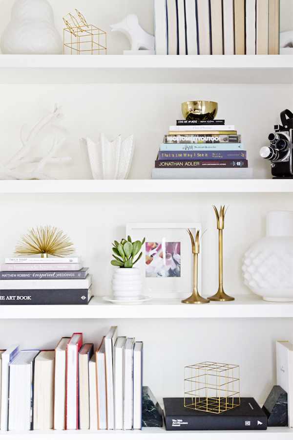 Perfectly styled open shelving selection | Growing Spaces