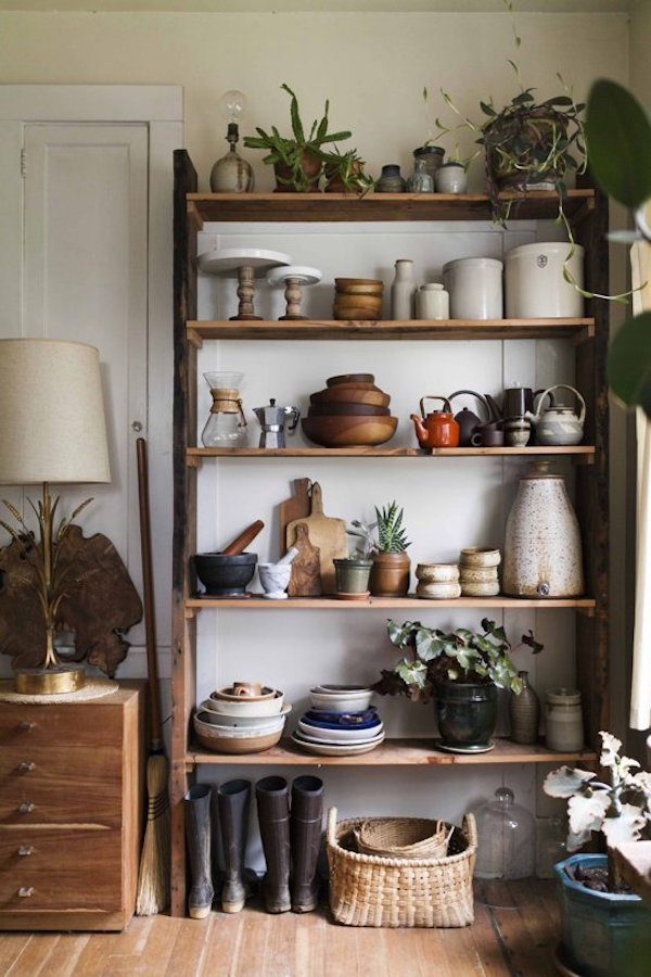 Pick of the best open shelving styling | Growing Spaces