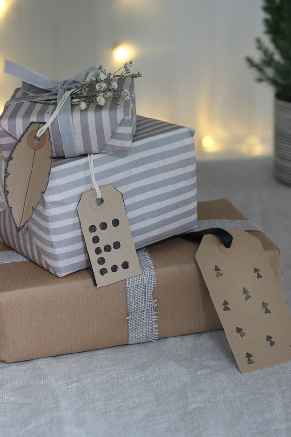 5 festive parcel tag ideas