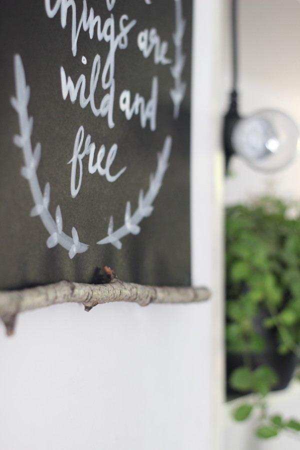 DIY branch wall hanging | Growing Spaces
