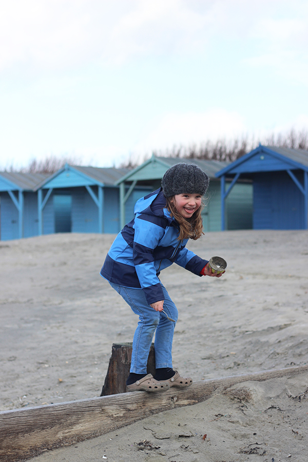Our favourite beach in winter | Growing Spaces