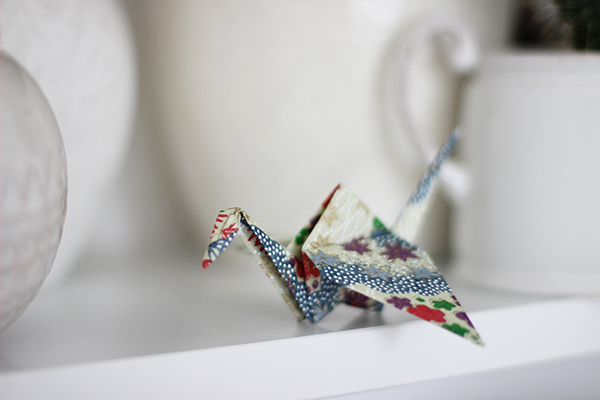 Origami crane | Growing Spaces