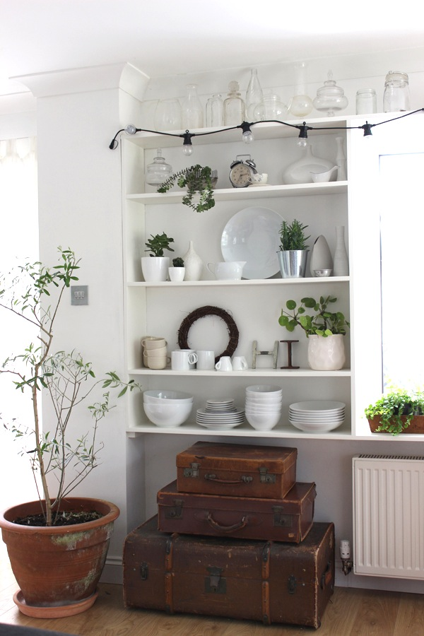 DIY Open Shelving for our Kitchen