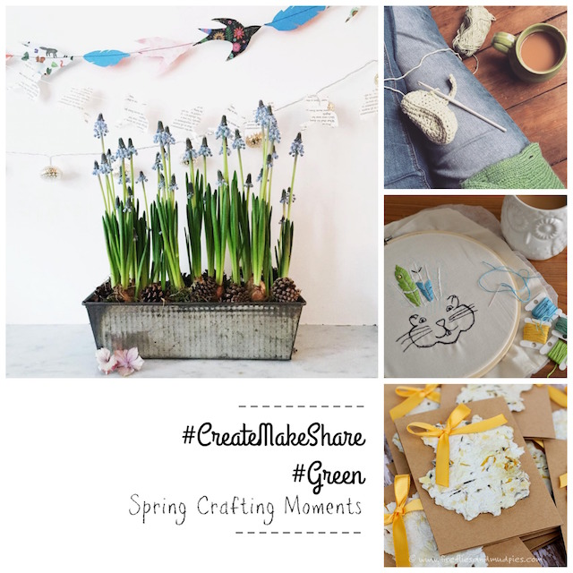 Create Make Share spring crafting moments | Growing Spaces