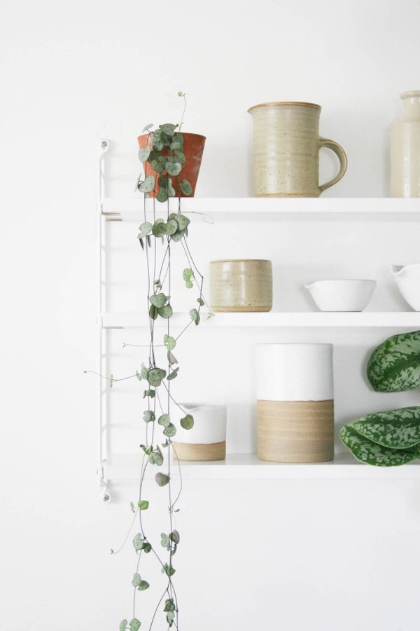 7 things to display on open shelving - ceramics | Growing Spaces