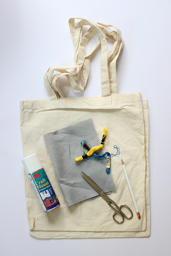 DIY kit bags for hallway storage | Growing Spaces