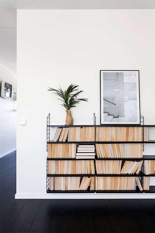 7 things to display on open shelving - books | Growing Spaces