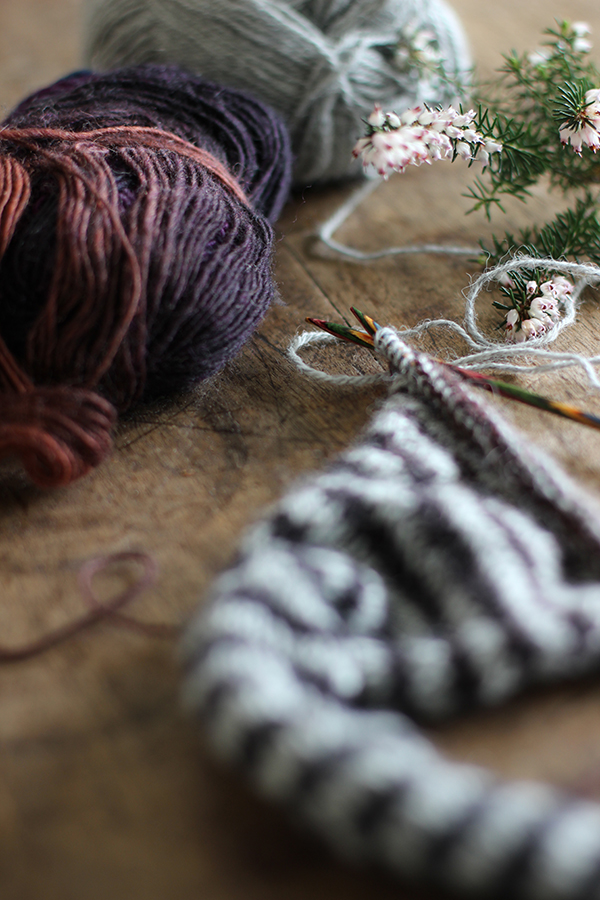Sitting and knitting – finding time to rest