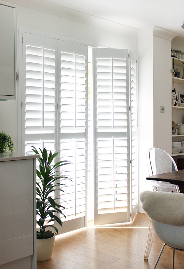 DIY shutters from The Shutter Store | Growing Spaces